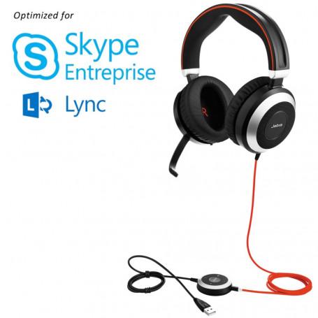 Jabra Evolve 80 Stereo Skype Entreprise™