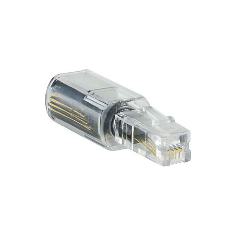Parallèle PARALLELE Adaptateur rotatif pour cordons de combiné (Connectique téléphonique)