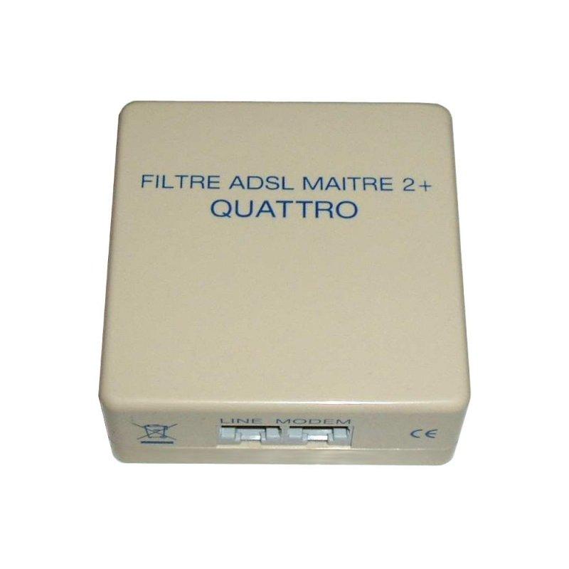 Decelect Forgos DECELECT Filtre Quadrupleur ADSL 2+ (Connectique téléphonique)