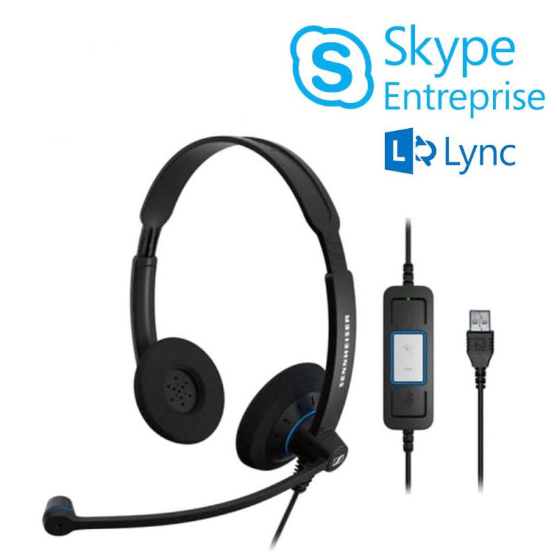 Sennheiser SC60 USB Skype Entreprise™ (Lync)