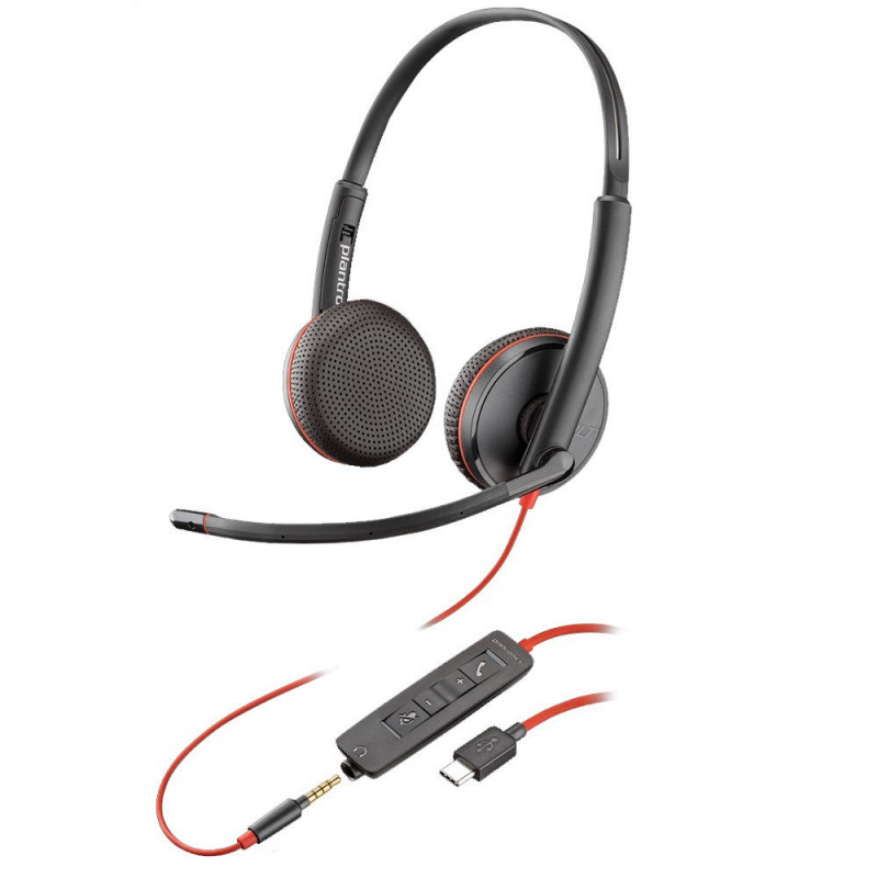 Plantronics Blackwire C3225 USB-C
