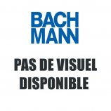 Bachmann Passe-câbles rond - Acier inox