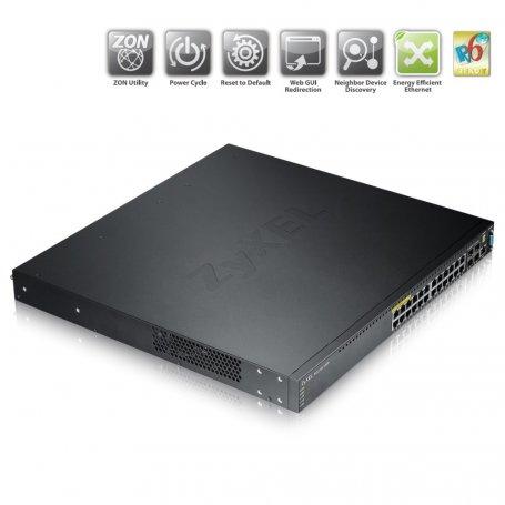 Zyxel XGS370024HP - Switch 24 ports RJ45 Gigabit / PoE (uplink 10Gbps)