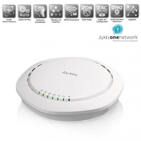 Zyxel WAC6503DS - Point d'accès WiFi double-bande (haute densité d'utilisateurs)