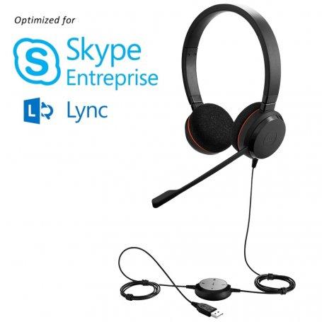 Jabra Evolve 20 Stereo Skype Entreprise™