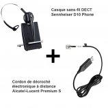 Sennheiser D10 Phone + Décroché Alcatel Premium