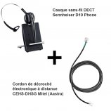 Sennheiser D10 Phone + Décroché Mitel (Aastra)