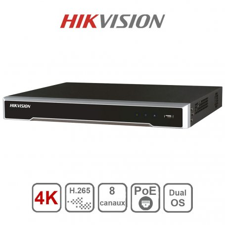 HIK VISION Enregistreur 4K Pro Series (8 canaux)