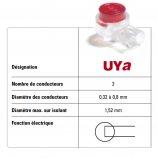 Boîte de 100 Connecteurs auto-dénudants UYa type Scotchlock