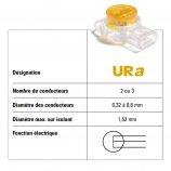Boîte de 100 Connecteurs auto-dénudants URa type Scotchlock