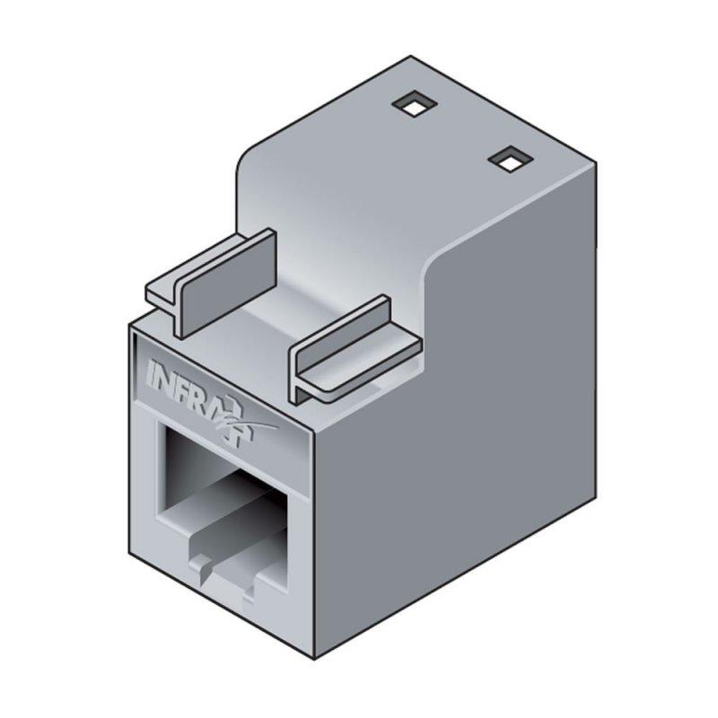 Infraplus INFRAPLUS Connecteur RJ45 femelle FTP Catégorie 5E (Connectique)