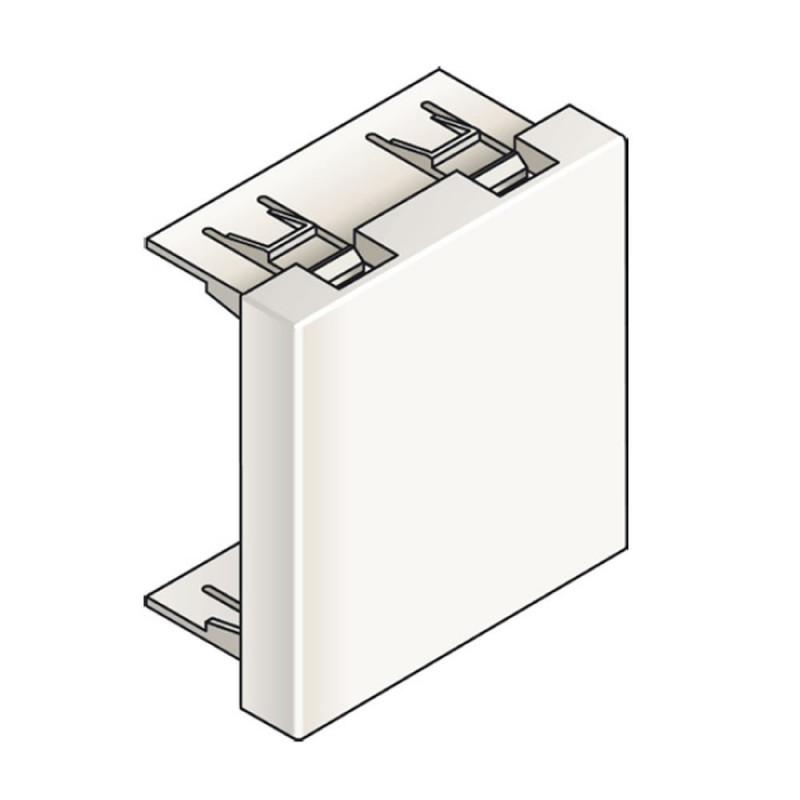 Infraplus Obturateur Blanc 45x45mm (Connectique)