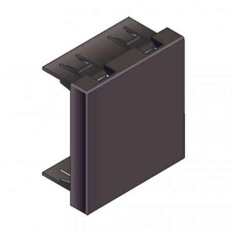 Infraplus Obturateur Noir 45x45mm (Connectique)
