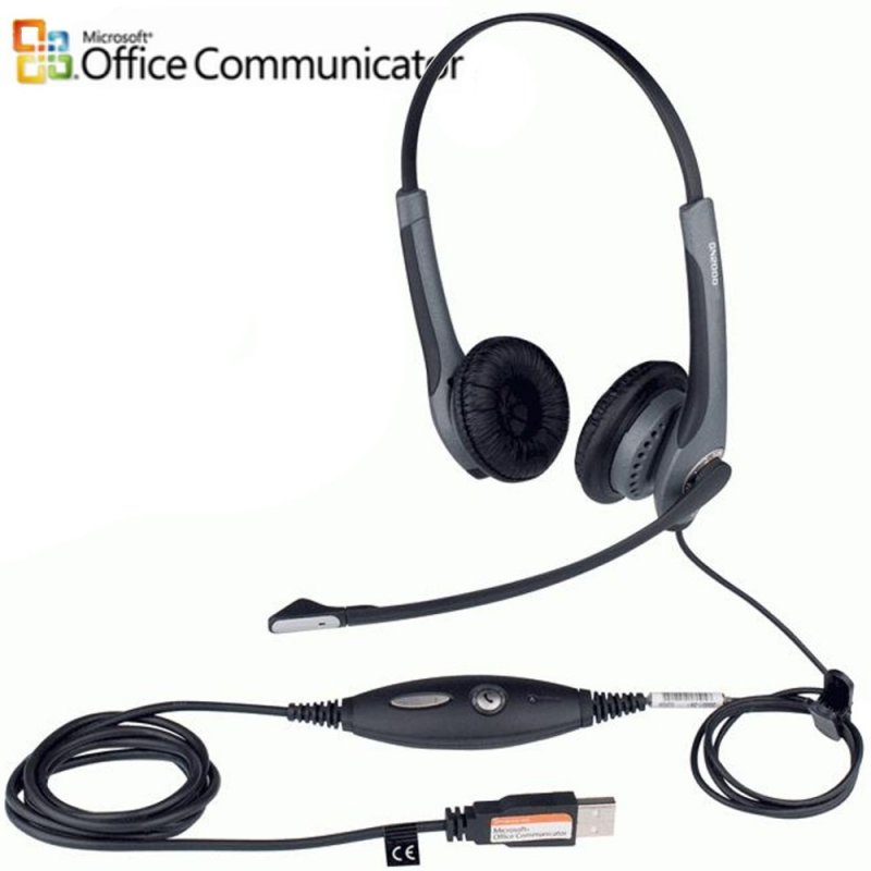 Gn Jabra GN NETCOM GN2000 USB Flex Duo (Microcasques filaires)