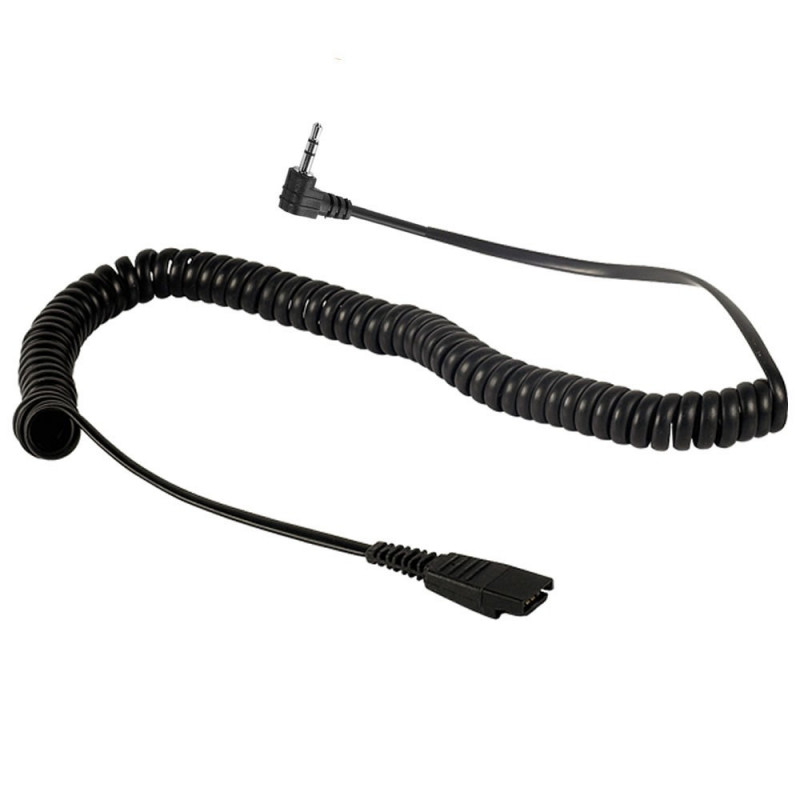 Plantronics PLANTRONICS Cordon QD/jack 2,5 mm pour CISCO SPA, PANASONIC, GRANDSTREAM (Casques)
