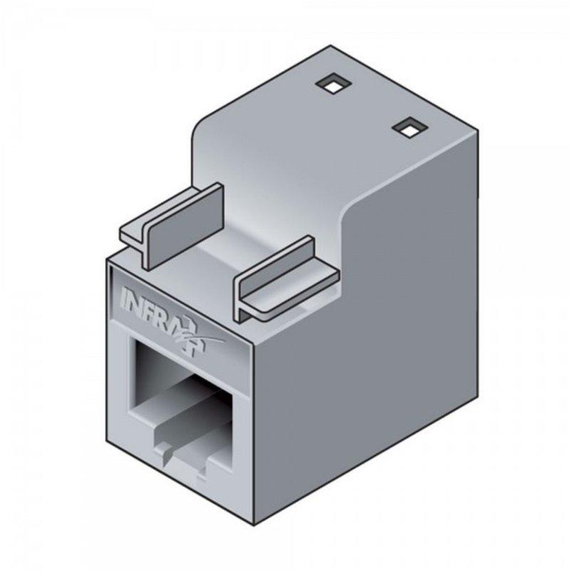 Infraplus Connecteur RJ45 femelle UTP Catégorie 6 (câble rigide)