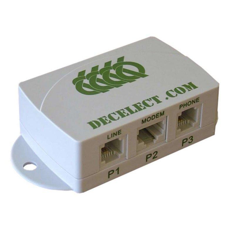 Decelect Forgos DECELECT Filtre VDSL / ADSL Maître (Connectique téléphonique)