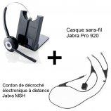 Jabra Pro 920 + Décroché MSH Alcatel-Lucent