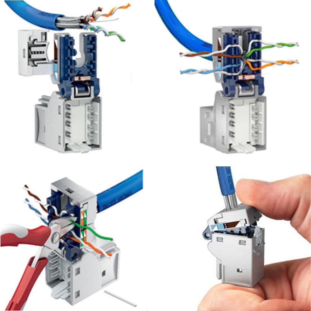 schneider electric connecteur rj45 cat 5e blind. Black Bedroom Furniture Sets. Home Design Ideas