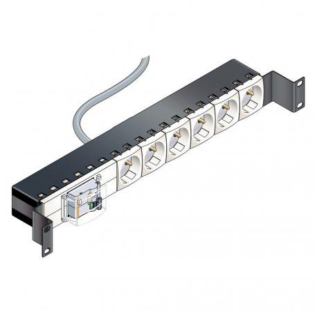 Schneider-Electric Panneau 6PC + disjoncteur Dif. 16 A/30mA