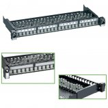 "Schneider-Electric Pan. 19"" VIDE - 24 ports RJ45 blindés"