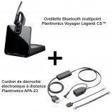 Plantronics Voyager Legend CS + APA-23 Alcatel-Lucent