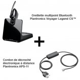 Plantronics Voyager Legend CS + APS-11 Mitel (Aastra)