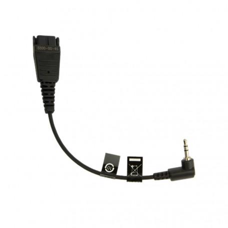 Jabra Cordon QD / Jack 2.5mm pour DECT Gigaset