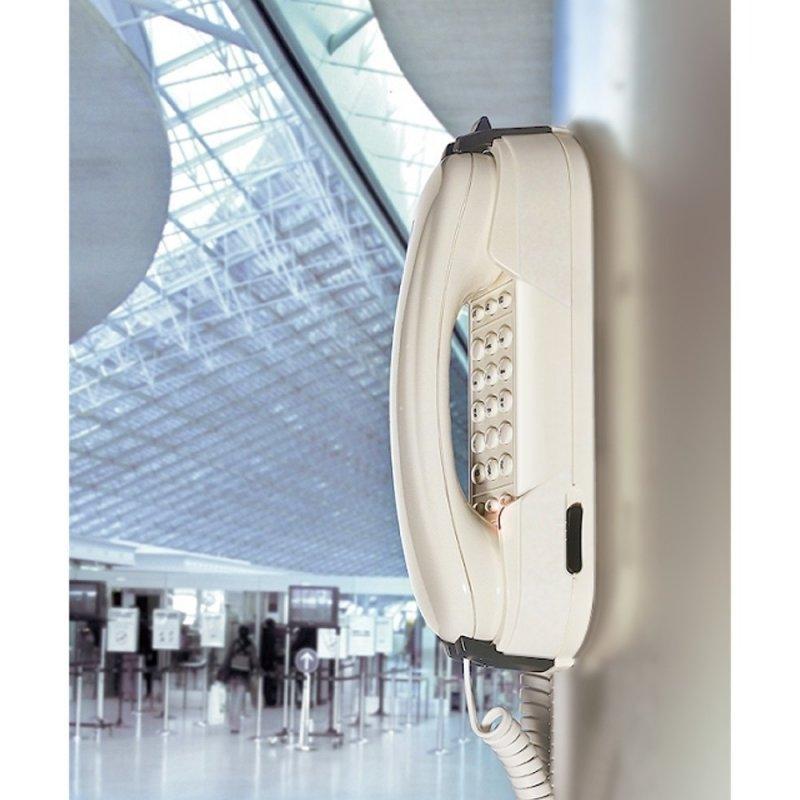 Depaepe DEPAEPE HD2000 Urgence à clavier - Blanc (Téléphones)