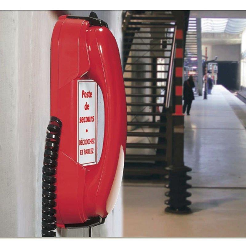 Depaepe DEPAEPE HD2000 Urgence 3 mémoires - Rouge (Téléphones)