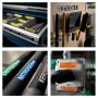 Dymo XTL Ruban (7m) d'étiquettes vinyle 12mm - noir sur blanc