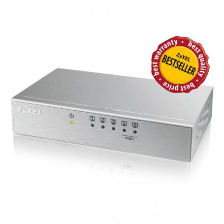 Zyxel ES105AV2 - Switch 5 ports 100 Mbps