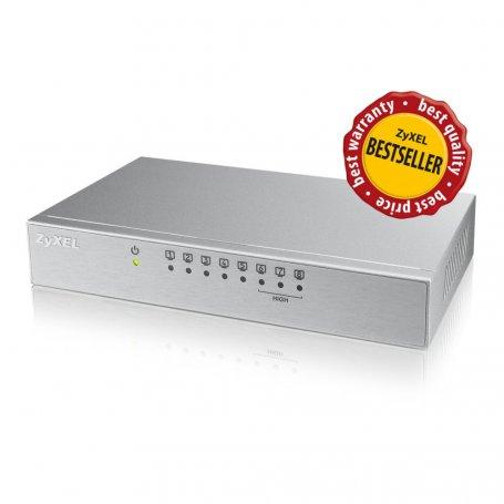Zyxel ES108AV2 - Switch 8 ports 100 Mbps