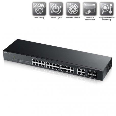 Zyxel GS192024 - Switch 24 ports RJ45 Gigabit