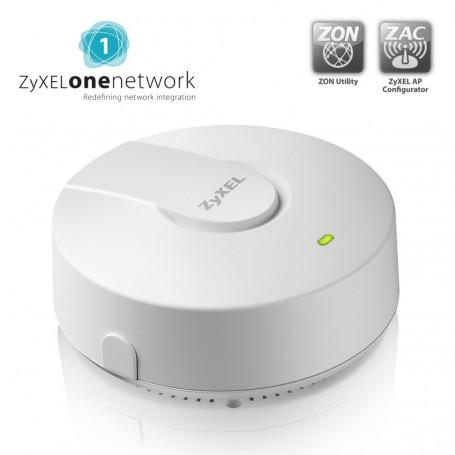 Zyxel NWA1121NI v2 - AP WiFi 802.11n design détecteur de fumée