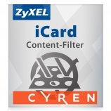 Zyxel ICUSG40CF1 - 1 an de licence filtrage de contenu pour USG40(W)