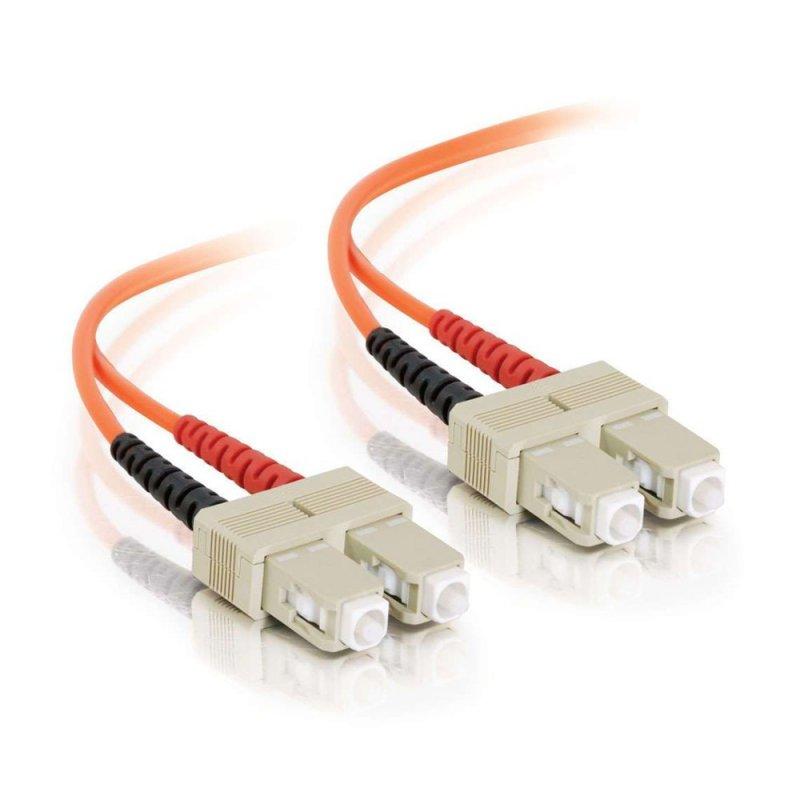 FibreFab Jarretière multimode duplex SC-SC 62.5/125 (OM1) - 1 mètre (Téléphones sans-fils)
