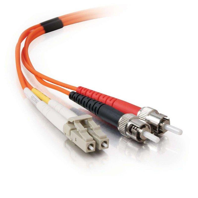FibreFab Jarretière multimode duplex LC-ST 50/125 (OM2) - 1 mètre (Téléphones sans-fils)