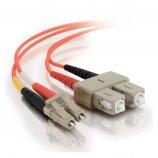 FibreFab Jarretière multimode duplex LC-SC  50/125 (OM2) - 1 mètre (Téléphones sans-fils)