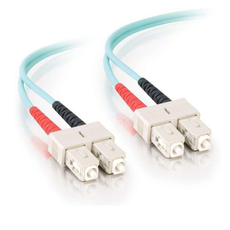 FibreFab Jarretière multimode duplex SC-SC 50/125 (OM3) - 1 mètre (Téléphones sans-fils)