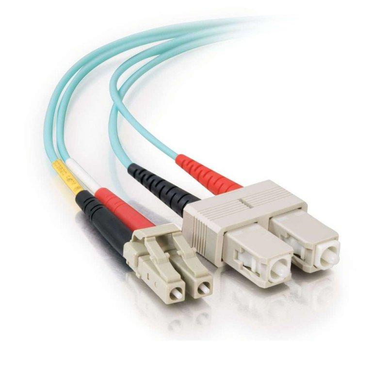 FibreFab Jarretière multimode duplex LC-SC 50/125 (OM3) - 1 mètre (Téléphones sans-fils)