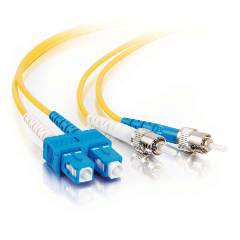 FibreFab Jarretière monomode duplex SC-ST 9/125 (OS1) - 1 mètre (Téléphones sans-fils)