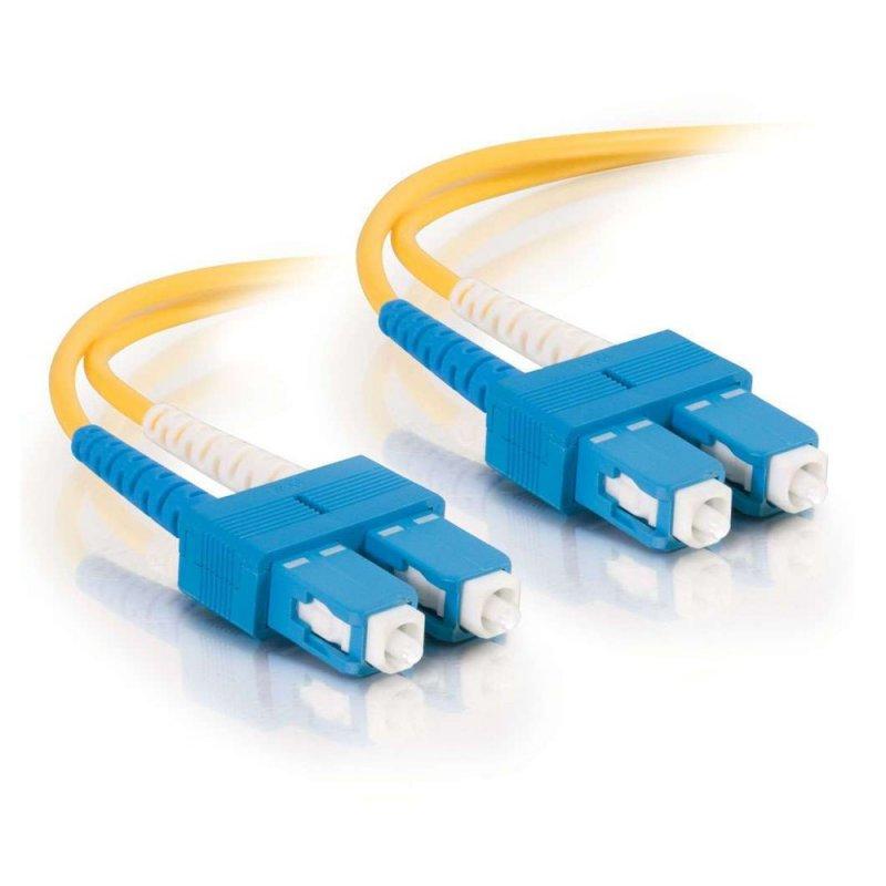 FibreFab Jarretière monomode duplex SC-SC 9/125 (OS1) - 2 mètres (Téléphones sans-fils)