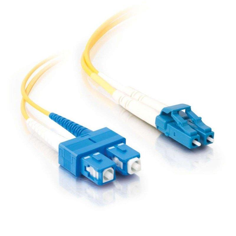 FibreFab Jarretière monomode duplex LC-SC 9/125 (OS1) - 2 mètres (Téléphones sans-fils)