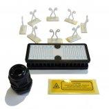 Système de lovage et de management pour tiroir optique